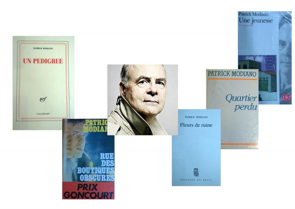 Modiano et quelques-unes de ses oeuvres